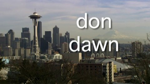 Space Needle Don Dawn