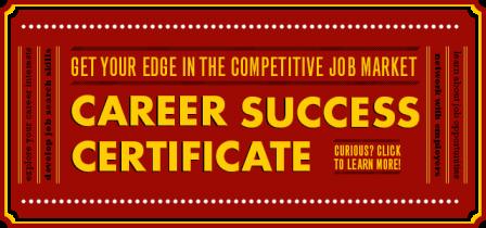 Career Success Certificate